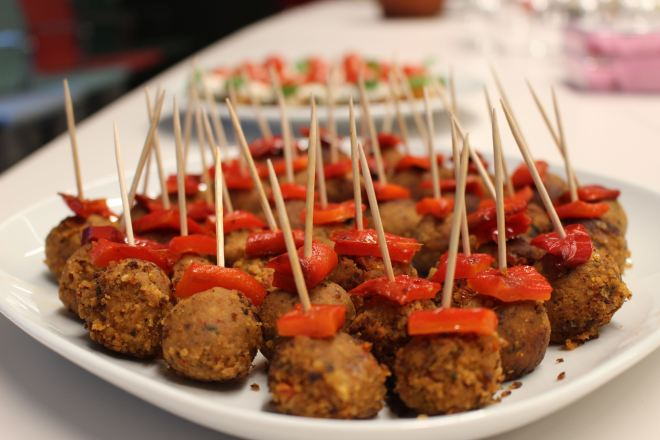 Veganes Fingerfood